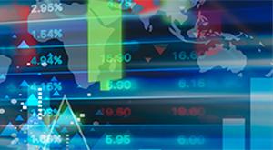 photo financial data board